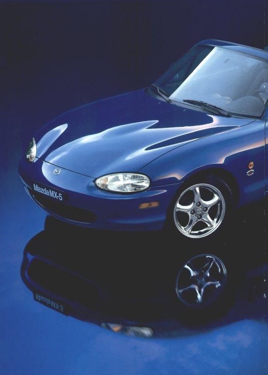 Mazda Mx5 Miata >> Mazda MX-5 Miata 10th Anniversary Model Brochure - Swedish Version
