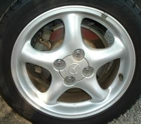90 honda civic tire size