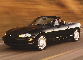 Photo courtesy of Mazda Information Bureau and San Diego Miata Club