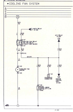 cooling system problems figure 3 cooling fan wiring diagram