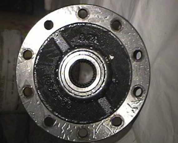 Una de diferenciales Torsen-Shaft