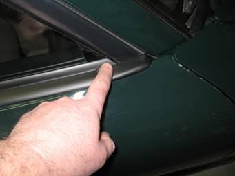 Replace Belt Line Molding