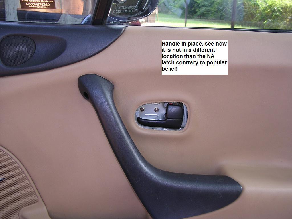 Final Fitting & Door Panel Retrofit
