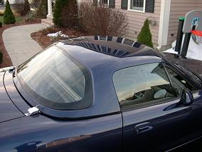 My 2003 Mazda hard top