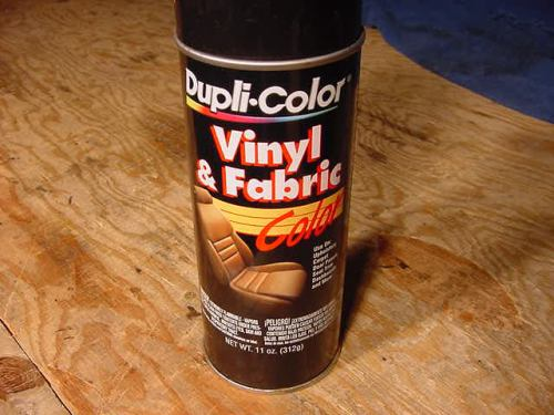 Plastic dash stain for Dashboard paint spray