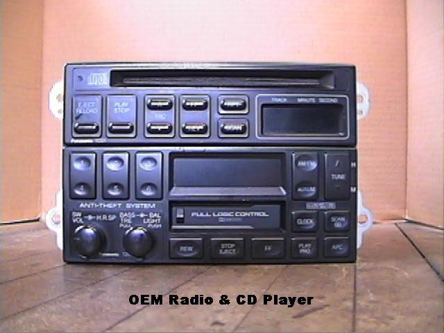 sony in dash cd player installation rh miata net 2000 Mazda Miata 1991 Mazda Miata Interior