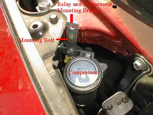 Air Horn Compressor >> Air Horn Installation in a '94 Miata