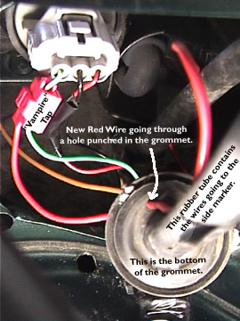grommet_tap add turn signals to side marker lights Car Blinker Lights at mr168.co