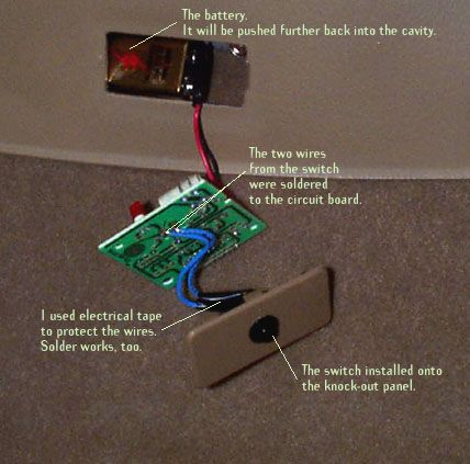 Another Place To Install Your Remote Garage Door Opener