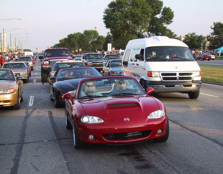 Premium Air Filter for Mazda Miata 1999-2005 w// 1.8L Engine