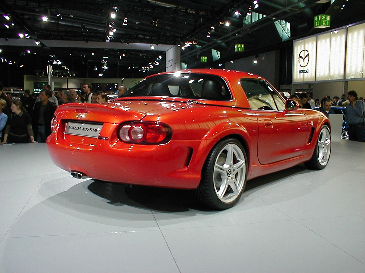 Mazda miata mps at the frankfurt auto show