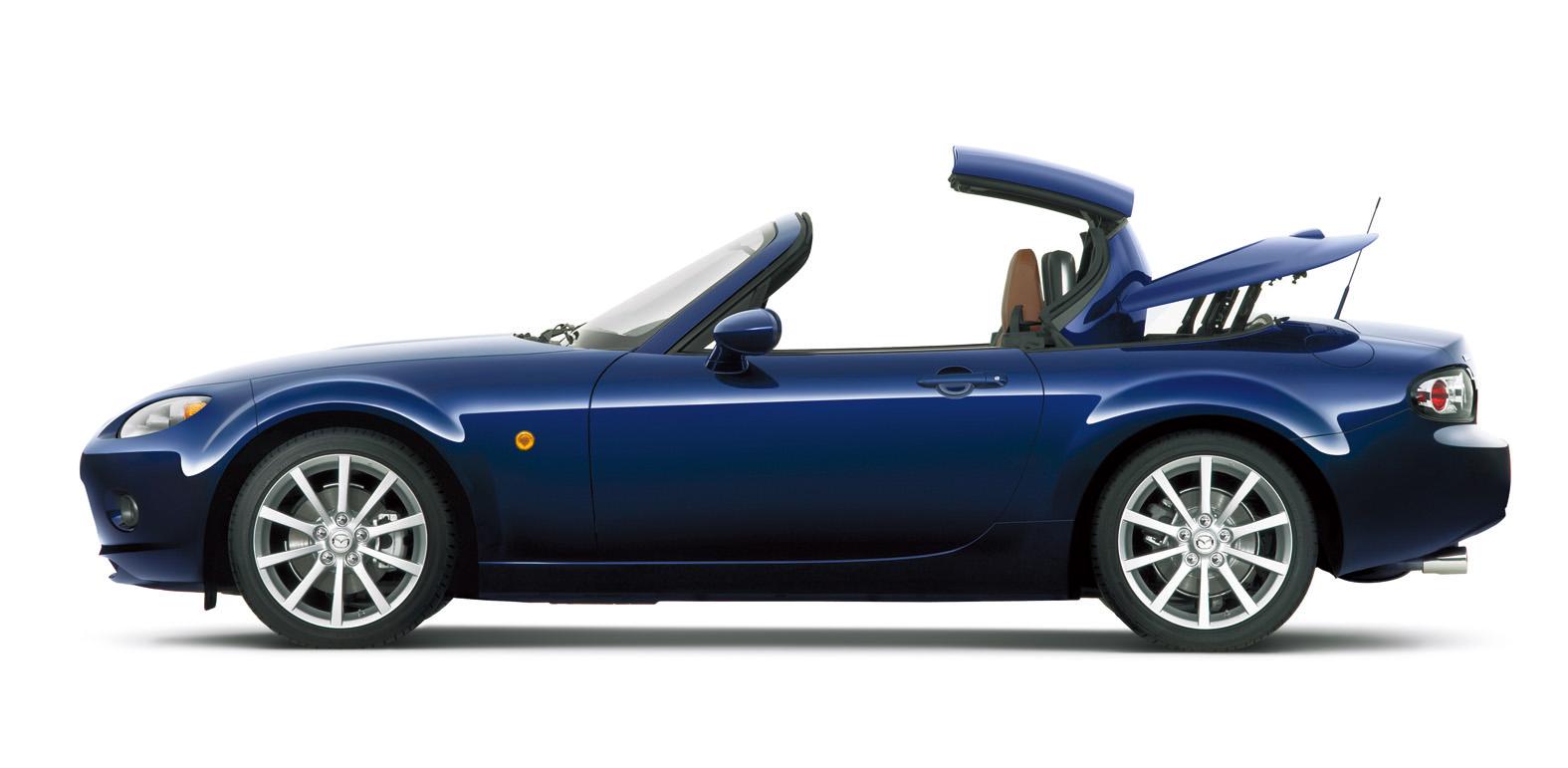Mazda miata retractable hardtop